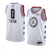 Camisetas NBA Baratas Boston Celtics 2019 Jayson Tatum 0# Blanco All Star Game Finished Swingman..